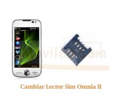 Cambiar Lector Tarjeta Sim Samsung Omnia II i8000 - Imagen 1