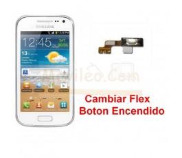 Reparar Boton Encendido Samsung Galaxy Ace 2 i8160 i8160p - Imagen 1