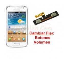 Reparar Flex Boton Volumen Samsung Galaxy Ace 2 i8160 i8160p - Imagen 1