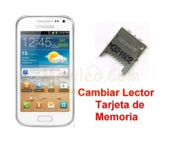 Reparar Lector Tarjeta de Memoria Samsung Galaxy Ace 2 i8160 i8160p - Imagen 1