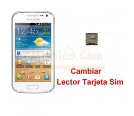 Reparar Lector Tarjeta Sim Samsung Galaxy Ace 2 i8160 i8160p - Imagen 1