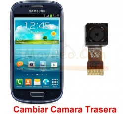 Reparar Camara Trasera Samsung Galaxy S3 Mini i8190 - Imagen 1