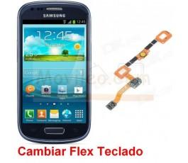 Reparar Flex Teclado Samsung Galaxy S3 Mini i8190 - Imagen 1