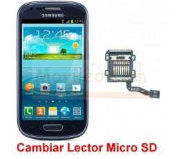 Reparar Lector Tarjeta Memoria Samsung Galaxy S3 Mini i8190 - Imagen 1