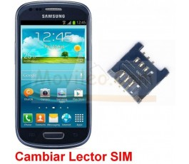 Reparar Lector Sim Samsung Galaxy S3 Mini i8190 - Imagen 1