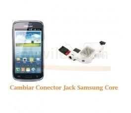 Cambiar Conector Jack Samsung Galaxy Core i8260 i8262 - Imagen 1