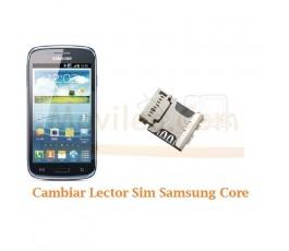 Cambiar Lector Tarjeta Sim Samsung Galaxy Core i8260 i8262 - Imagen 1