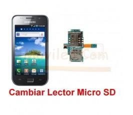 Reparar Lector Tarjeta Memoria Samsung Galaxy S i9000 i9001 - Imagen 1