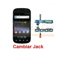 Reparar Jack Samsung Nexus S i9023 - Imagen 1