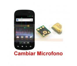 Reparar Microfono Samsung Nexus S i9023 - Imagen 1