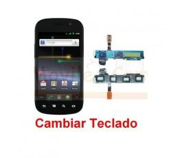 Reparar Teclado Samsung Nexus S i9023 - Imagen 1