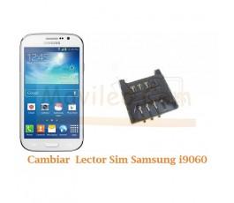 Cambiar Lector Tarjeta Sim Samsung Galaxy Neo i9060 i9062 - Imagen 1