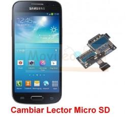 Reparar Lector Tarjeta de Memoria Samsung Glaxy S4 Mini i9190 i9195 - Imagen 1