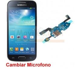 Reparar Microfono Samsung Galaxy S4 Mini i9190 i9195 - Imagen 1