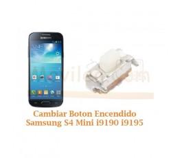 Cambiar Boton Encendido Samsung Galaxy S4 Mini i9190 i9195 - Imagen 1