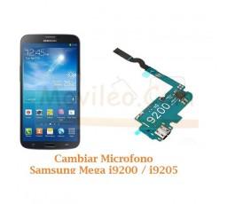 Cambiar Microfono Samsung Mega i9200 i9205 - Imagen 1