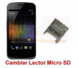 Reparar Lector Tarjeta de Memoria Samsung Nexus i9250 - Imagen 1