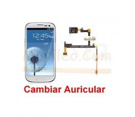 Reparar Auricular Samsung Galaxy S3 i9300 - Imagen 1