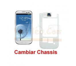 Cambiar Chassis Samsung Galaxy S3 i9300 - Imagen 1