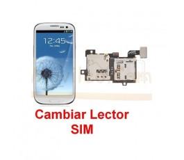 Reparar Lector Sim Samsung Galaxy S3 i9300 - Imagen 1