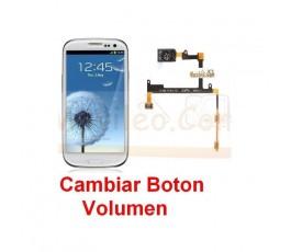 Reparar Boton Volumen Samsung Galaxy S3 i9300 - Imagen 1