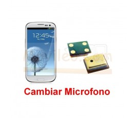 Reparar Microfono Samsung Galaxy S3 i9300 - Imagen 1