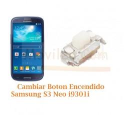Cambiar Boton Encendido Samsung Galaxy S3 Neo i9301i - Imagen 1