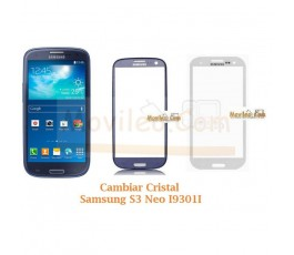 Cambiar Cristal Samsung Galaxy S3 Neo i9301i - Imagen 1