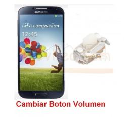 Reparar Boton Volumen Samsung Galaxy S4 i9500 i9505 - Imagen 1