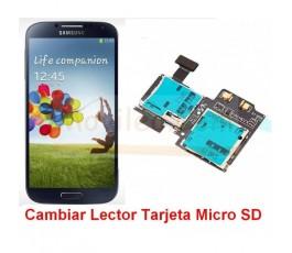Reparar Lector Tarjeta de Memoria Samsung Galaxy S4 i9500 i9505 - Imagen 1