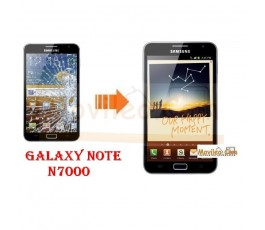 Cambiar Cristal Samsung Note N7000 - Imagen 1