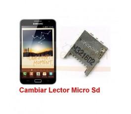Reparar Lector Tarjeta de Memoria Samsung Galaxy Note, N7000 - Imagen 1
