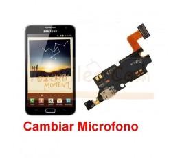 Reparar Microfono Samsung Galaxy Note, N7000 - Imagen 1