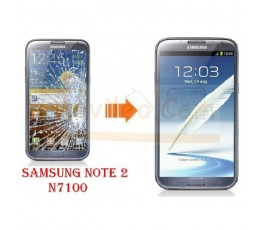 Cambiar Cristal Samsung Note 2 / N7100 - Imagen 1