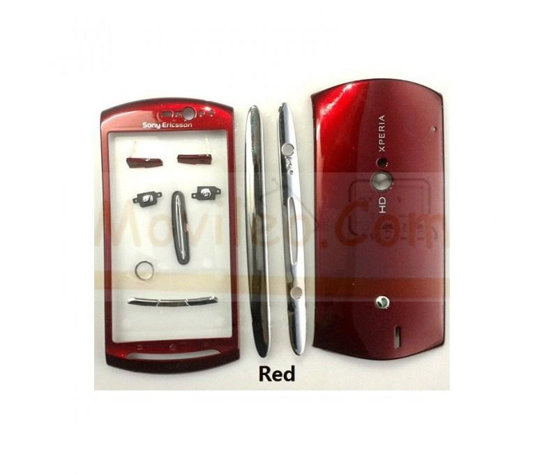 Carcasa Completa Roja para Sony Ericsson Neo, Mt11, Mt15 - Imagen 1