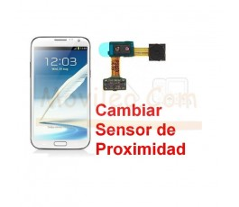 Reparar Sensor de Proximidad Samsung Galaxy Note 2, N7100 - Imagen 1