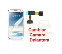 Reparar Camara Delantera Samsung Galaxy Note 2, N7100 - Imagen 1