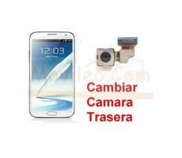 Reparar Camara Trasera Samsung Galaxy Note 2, N7100 - Imagen 1