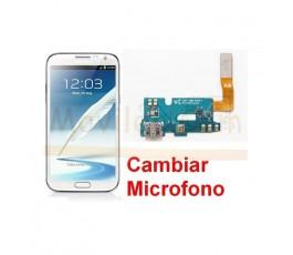 Reparar Microfono Samsung Galaxy Note 2, N7100 - Imagen 1