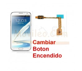 Reparar Boton Encendido Samsung Galaxy Note 2, N7100 - Imagen 1