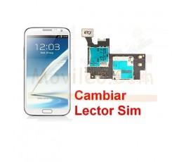 Reparar Lector Tarjeta Sim Samsung Galaxy Note 2, N7100 - Imagen 1
