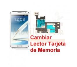 Reparar Lector Tarjeta de Memoria Samsung Galaxy Note 2, N7100 - Imagen 1