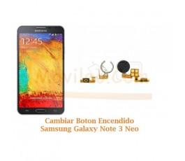 Cambiar Boton Encendido Samsung Galaxy Note 3 Neo N7505 - Imagen 1
