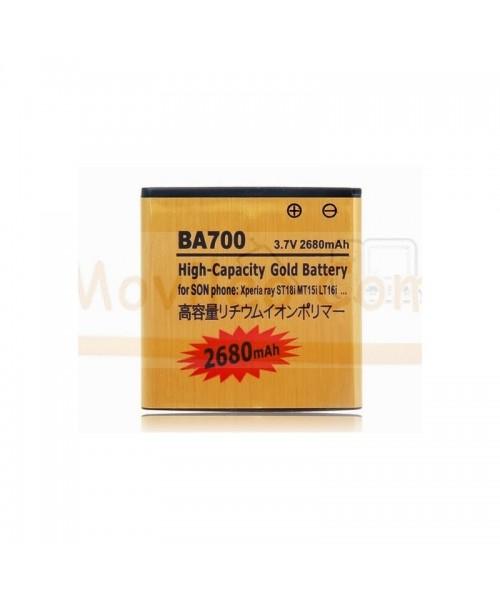 Bateria Gold de 1500mAh para Sony Neo Xperia Pro Xperia E BA700 - Imagen 1