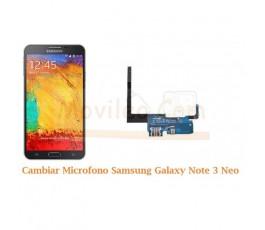 Cambiar Microfono Samsung Galaxy Note 3 Neo N7505 - Imagen 1