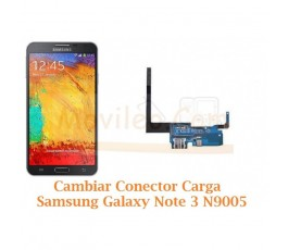 Cambiar Conector Carga Samsung Galaxy Note 3 N9005 - Imagen 1