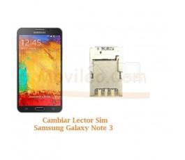 Cambiar Lector Sim Samsung Galaxy Note 3 N9005 - Imagen 1