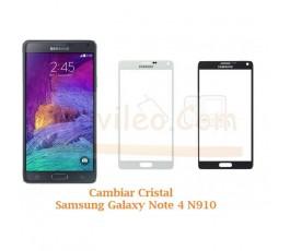 Cambiar Cristal Samsung Galaxy Note 4 N910 - Imagen 1