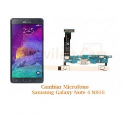 Cambiar Microfono Samsung Galaxy Note 4 N910 - Imagen 1