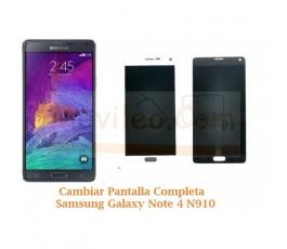 Cambiar Pantalla Completa Samsung Galaxy Note 4 N910 - Imagen 1